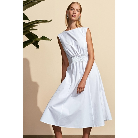 Protagonist Dresses & Skirts - Cinched White Dress 48